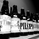 Bottles of Lagunitas premium Craft Beer