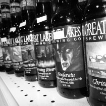 several bottles of Great Lakes Brewing Company's Beers