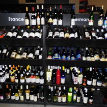 selection of French and German Wines