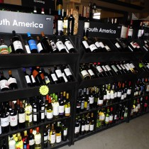 A selection of wines from south america available in our wine cellar