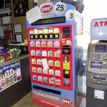 We have an Ohio Instant Lottery scratch-off machine