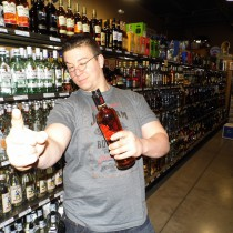 Dave in the Liquor Aisle
