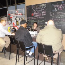 People enjoying one our our Beer, Wine, and Liquor Tastings